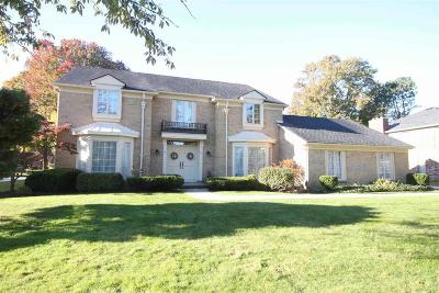 Grosse Pointe Shores Single Family Home For Sale: 37 Fordcroft St
