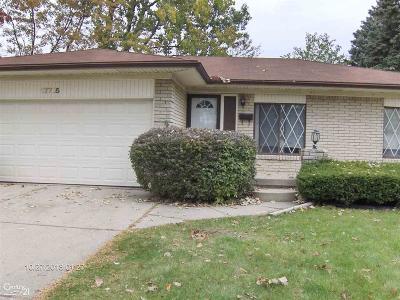 Single Family Home For Sale: 17745 Juliana Ave