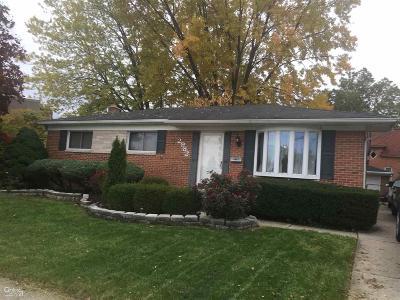 Troy Single Family Home For Sale: 2982 Athena