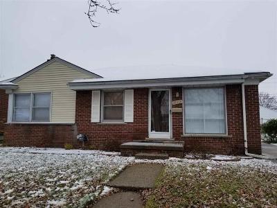 Roseville Single Family Home For Sale: 28069 Bohn