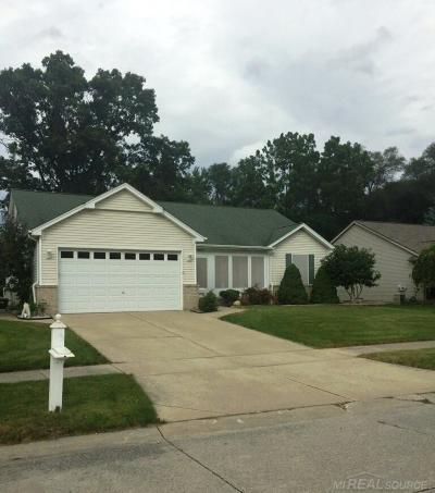 Shelby Twp MI Single Family Home For Sale: $279,999