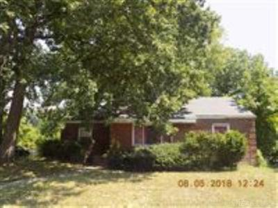 Detroit Single Family Home For Sale: 4412 Woodhall