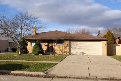 Sterling Heights Single Family Home For Sale: 34039 Viceroy