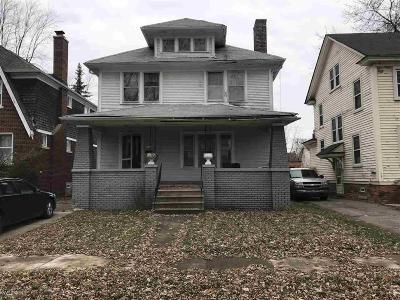 Detroit Single Family Home For Sale: 3309 Doris - 10 Unit Bulk Sale