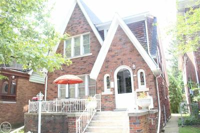 Grosse Pointe Park Single Family Home For Sale: 873 Beaconsfield