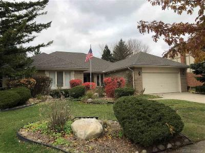 Sterling Heights Single Family Home For Sale: 41715 Red Oak