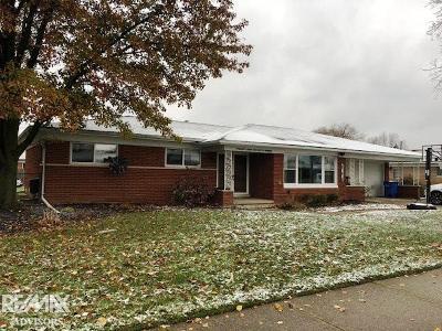 Warren Single Family Home For Sale: 29163 Aline