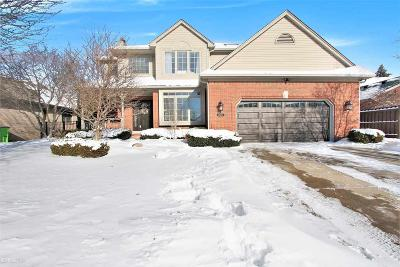 Clinton Township Single Family Home For Sale: 43590 Bayfield