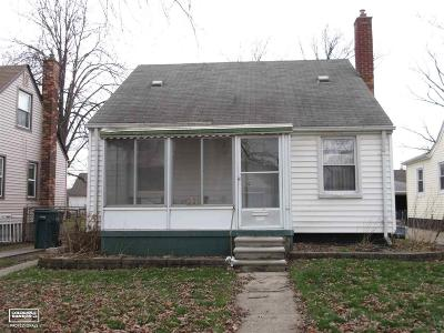 Lincoln Park Single Family Home For Sale: 620 Ford Blvd