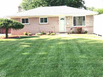 Saint Clair Shores Single Family Home For Sale: 22425 Lake Blvd