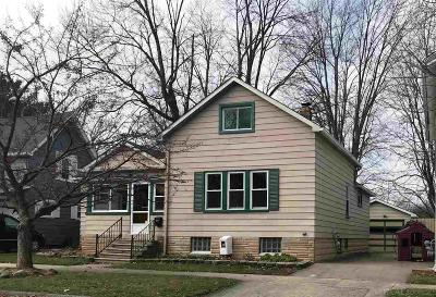 Marine City MI Single Family Home Sold: $135,000