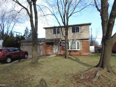 Troy Single Family Home For Sale: 2701 Saratoga