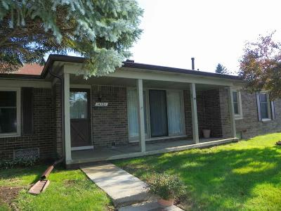 Shelby Twp MI Condo/Townhouse For Sale: $158,700