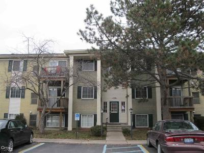 Utica MI Condo/Townhouse For Sale: $69,000