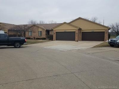 Macomb Condo/Townhouse For Sale: 37196 Glenbrook
