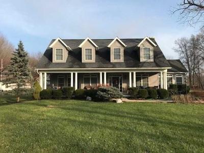 Lambertville Single Family Home For Sale: 8072 Adler