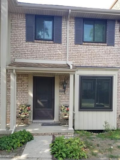 Warren MI Condo/Townhouse For Sale: $110,000