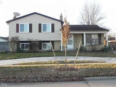 Sterling Heights Single Family Home For Sale: 5150 Franklin Park