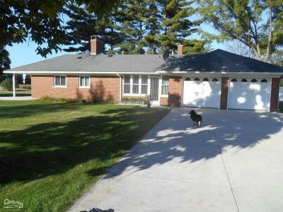 Ray Twp Single Family Home For Sale: 19575 26 Mile