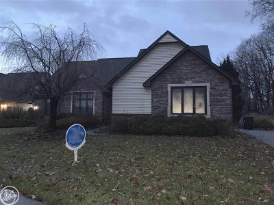 Shelby Twp Single Family Home For Sale: 13920 Strathmore
