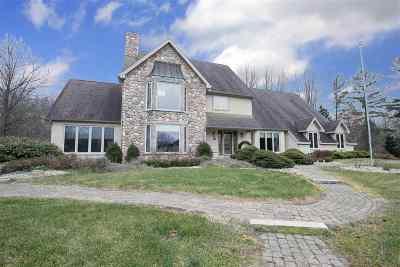 Lambertville Single Family Home For Sale: 6218 Cloverlane