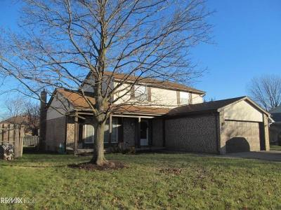 Macomb Twp Single Family Home For Sale: 47474 Valley Forge Dr