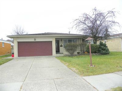 Warren Single Family Home For Sale: 14628 Talbot Dr