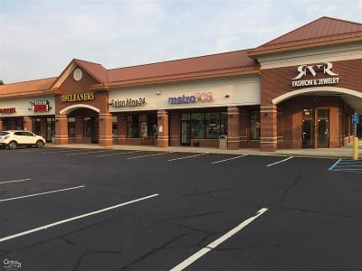 Shelby Twp Commercial Lease For Lease: 2242 Auburn