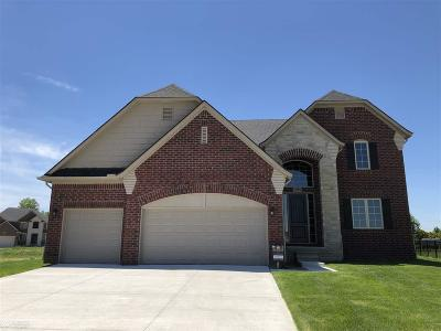 Macomb Twp Single Family Home For Sale: 21886 Rivanna Drive