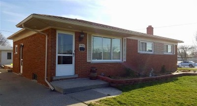 Macomb Single Family Home For Sale: 13610 Hanford Ct