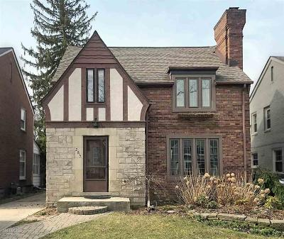 Grosse Pointe Farms Single Family Home For Sale: 285 Merriweather