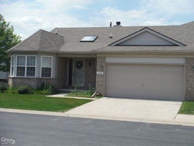 Clinton Township Condo/Townhouse For Sale: 41016 Glenleven