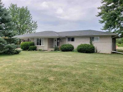 St. Clair Single Family Home For Sale: 3201 Capac Road