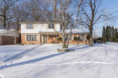 Sterling Heights Single Family Home For Sale: 12533 Mair