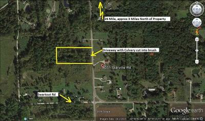 Clay Twp Residential Lots & Land For Sale: Starville