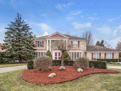 Grosse Pointe Shores Single Family Home For Sale: 21 Stillmeadow Ln