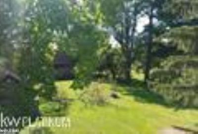 Lapeer Residential Lots & Land For Sale: W Barnes Lake Rd