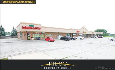 Clinton Township Commercial Lease For Lease: 18970 Cass Ave