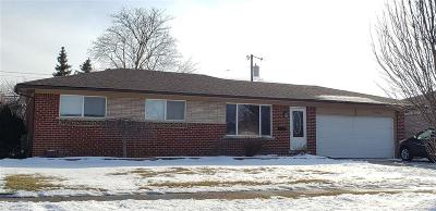 Warren Single Family Home For Sale: 13822 Bade