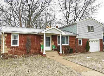 Algonac Single Family Home For Sale: 2031 Saint Clair River Dr