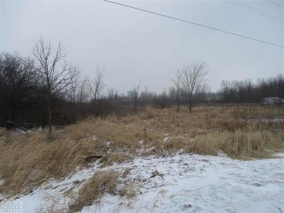 Marine City Residential Lots & Land For Sale: Vacant Parcel Chartier