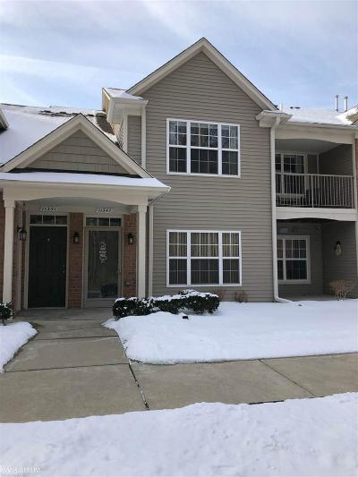 Shelby Twp Condo/Townhouse For Sale: 11351 Northwoods