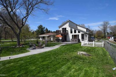 Algonac Single Family Home For Sale: 9453 Elizabeth