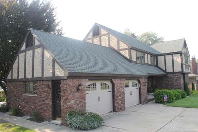 Harrison Twp Single Family Home For Sale: 38007 Lakeshore