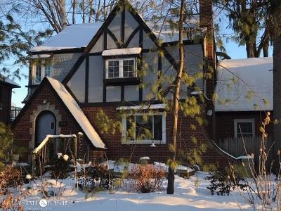 Grosse Pointe Farms Single Family Home For Sale: 184 Kerby