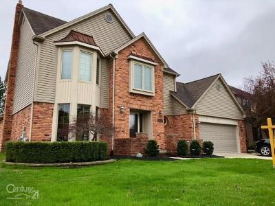 Macomb Single Family Home For Sale: 14710 Crofton