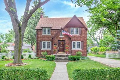 Grosse Pointe Single Family Home For Sale: 214 Fisher Rd.