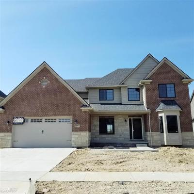 Macomb Single Family Home For Sale: 52749 Tacoma Narrows