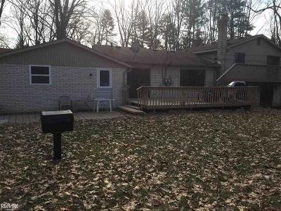 Troy Single Family Home For Sale: 5299 Beach Rd