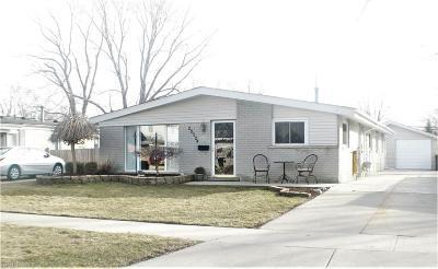 Saint Clair Shores Single Family Home For Sale: 22524 Detour Street